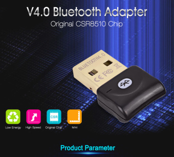 High Quaility Wireless Bluetooth Adapter V 4.0 Dual Mode USB Bluetooth Dongle Mini Bluetooth Computer Adapter For Win7/8/10 - intl