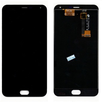 High Quality New MEIZU LCD Display + Digitizer Touch Screenassembly Without Frame For Meizu M2 Note Phone 5.5 inch Black Color- intl