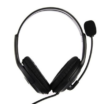 Hot Sale PS3 Gaming Game Stereo Dual Headphones USB Earphone PCLaptop Gaming Headset with mic microphone (Intl)