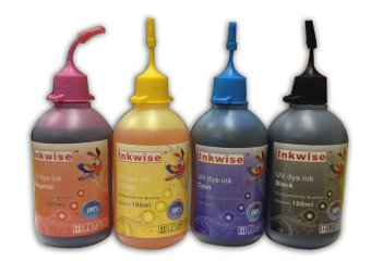 Inkwise Premium Dye Ink Set for Brother Printer