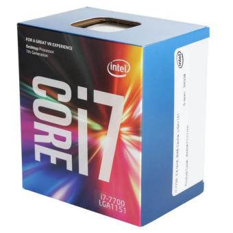 Intel Core i7-7700 Kaby Lake Quad-Core Desktop Processor (8M Cache, up to 4.20 GHz)