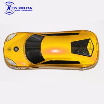 Kenxinda Mobile A3 Basic Bar Phone Dual SIM FM Radio Camera (Yellow)