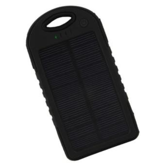 KingSmart-90000mAh Waterproof Solar Powerbank with LED (Black)