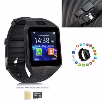 M99 Quad Phone Bluetooth Touch Screen Smart Watch (Black)