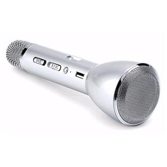 Magic Karaoke Bluetooth Speaker with Mic KTV-K088 (Silver)