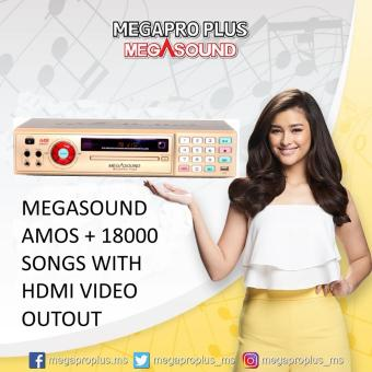 Megasound Megapro Plus Amos+ DVD Karaoke Player with 18000 Songs,HDMI Video Output, Free Microphone, Free HDMI Cable