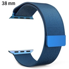 Milanese Loop Strap Stainless Steel band For Apple Watch .