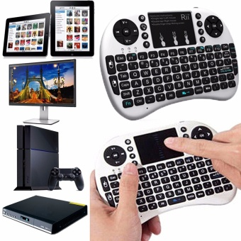 Mini 2.4GHz Wireless Keyboard Touchpad Mouse Combo For Android TVBox PC - Intl