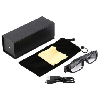 Mini 4GB 720P HD Camera Glasses Eyewear DVR Video Recorder Cam Camcorder Black