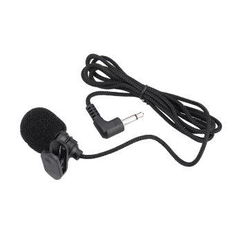 Mini Portable Clip-on Lapel Lavalier Hands-free 3.5mm JackCondenser Microphone Mic (Intl)