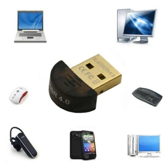 Mini USB2.0 Bluetooth V4.0 Dongle Dual Mode Wireless Device Adapter - intl