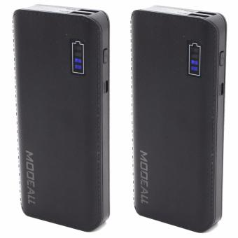 MODEALL M-05 20000mah Smart Power Bank (Black) Set Of 2