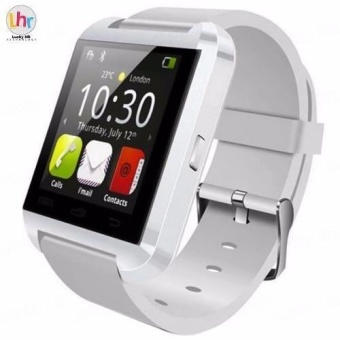 Modoex M8 Bluetooth TouchScreen Smart watch (White)