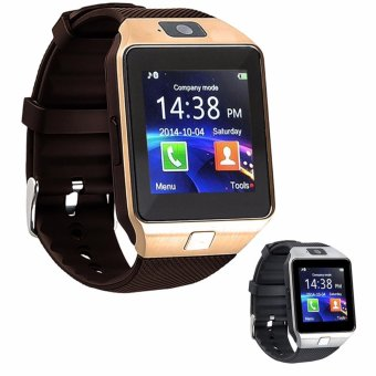 Modoex M9 Phone Quad Smart Watch (Gold/Brown) Buy 1 Take 1 (Silver)