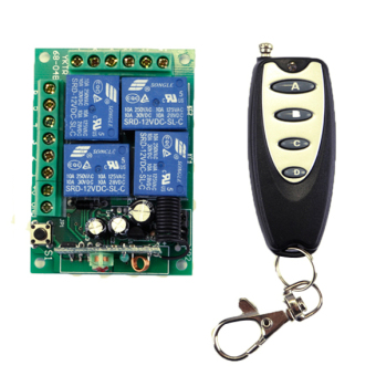 New DC 12V Wireless Remote Control Switch Module and Car Remote Control 433