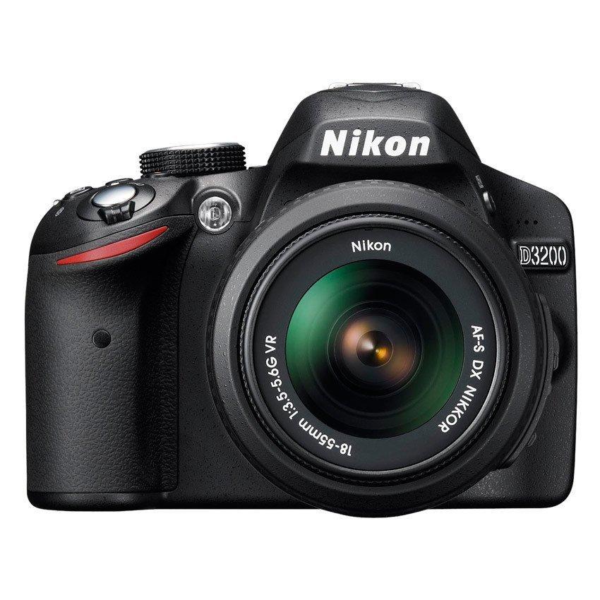 nikon d3200 242mp dslr camera with 18 55mm lens