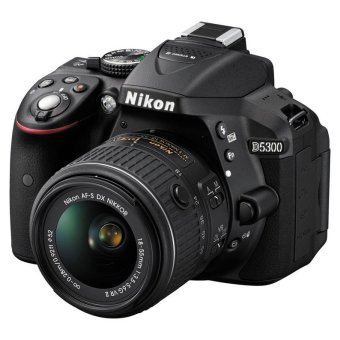 Nikon D5300 24.2MP with AF-P 18-55mm VR Lens Kit (New Version)