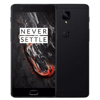 OnePlus 3T Dual Sim (6GB, 128GB) - Midnight Black - intl