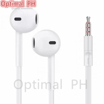 Optimal Stereo Headset With Mic For Lenovo Phone (White)