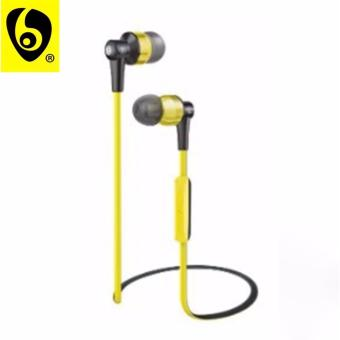 OVLENG ETT? S8 Shocking 2.0 Stereo Super Bass Bluetooth Earphone Music Treble Clear Hi-Fi Wireless Headphone with Microphone (Yellow)
