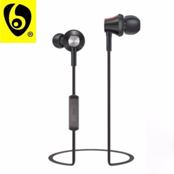 OVLENG S10 Shocking 2.0 Stereo Super Bass Bluetooth Earphone Music Treble Clear Hi-Fi Wireless Headphone with Microphone (Black)