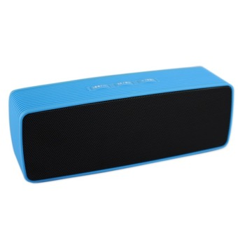 Portable Bluetooth Dual Speakers Ultra Bass (Blue/ Black)