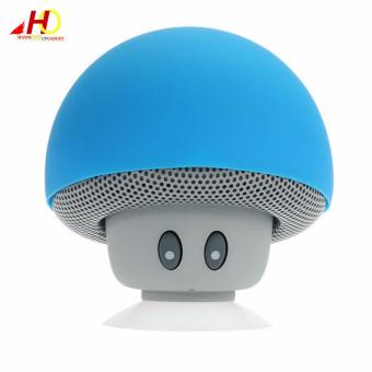 Portable Mini Mushroom Wireless Bluetooth Speaker (Blue)