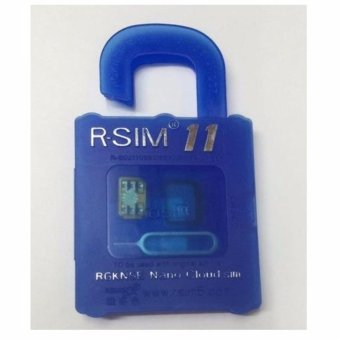 R-Sim Rs-11 11 The Best Unlock And Activation Sim For Iphone4S/5/5C/5S/6/6Plus/7/7Plus (Blue) With Free Phone Ring Stand