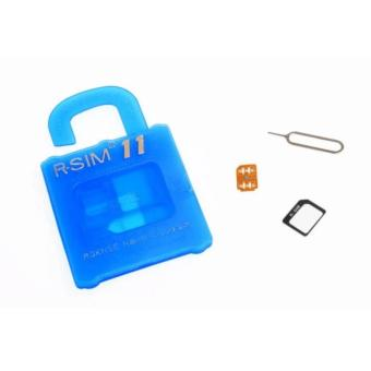 R-SIM RS-11The Best Unlock and Activation SIM for iPhone4S/5/5C/5S/6/6Plus/7/7Plus