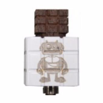 rubiks cube Mechanical Atomizer RDA for E-Cigarette white
