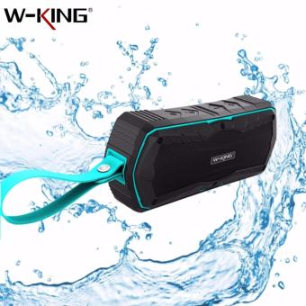 S9 W-KING Outdoor Waterproof Shockproof Dustproof Bluetooth 4.0Wireless Speaker (Blue)