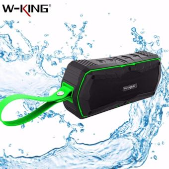 S9 W-KING Outdoor Waterproof Shockproof Dustproof Bluetooth 4.0Wireless Speaker (Green)