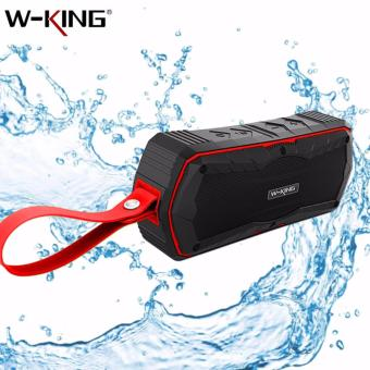 S9 W-KING Outdoor Waterproof Shockproof Dustproof Bluetooth 4.0Wireless Speaker (Red)