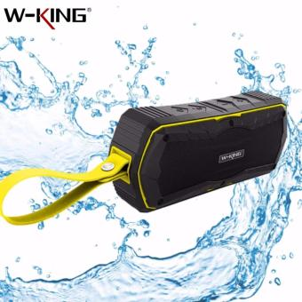 S9 W-KING Outdoor Waterproof Shockproof Dustproof Bluetooth 4.0Wireless Speaker (Yellow)