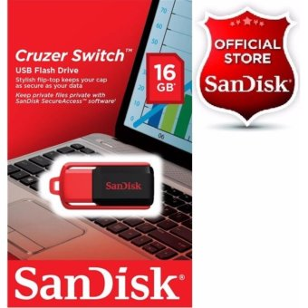 Sandisk Cruzer Switch 16GB USB 2.0 Flashdrive