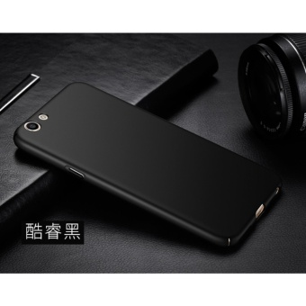 Slim Fit Shell Hard Full Protective Anti-Scratch Resistant Cover Case for OPPO F3(Black) - intl