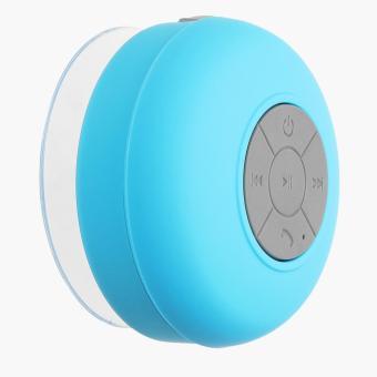 SM Accessories Waterproof Bluetooth Shower Speaker (Blue)