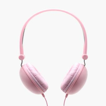 SM Stationery Pink Stereo Headphones