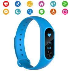 PHP 1.319. Smart Tracker Watch M2s Band IP67 Waterproof OLED Touch Screen Fitness Tracker Wristband with Heart Rate Monitor Smart Pedometer Sleep ...