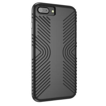 SPECK Shockproof Hybrid PC + TPU Phone Case for iPhone 7 Plus - Black - intl