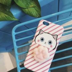 PHP 472. Squishy Cat Cartoon Animals Phone Case 3D Cute Joy Doll Soft TPU Back Cover ...