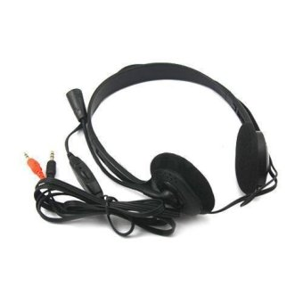 Stereo Headphones Headset Earphone Mic For PC Computer