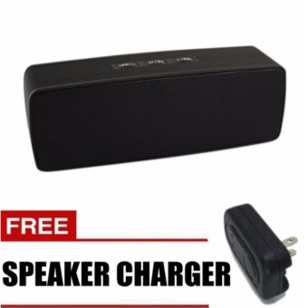 Sunsonic Portable Bluetooth Dual Speakers Ultra Bass ( Black) withFREE Speaker Charger