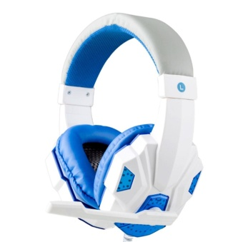 Surround Stereo Gaming Headset Headband Head USB 3.5mm with Mic for PC WH - intl
