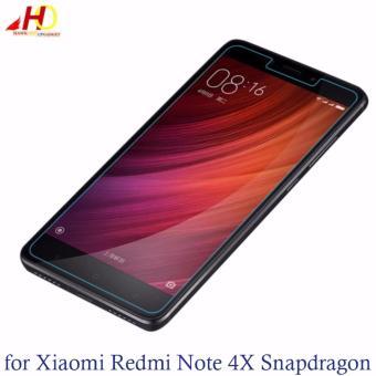 Tempered Glass for Xiaomi Redmi Note 4X Snapdragon (Clear)