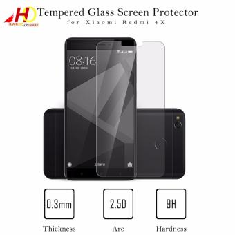 Tempered Glass Screen Protector for Xiaomi Redmi 4X (Clear)
