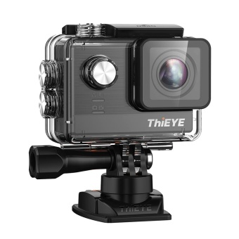 ThiEYE T5e WiFi 4K 30fps Action Camera 12MP Built-in 2 inch TFT LCD Screen Time-Lapse Videos Ambarella A12LS75 Chipset - intl