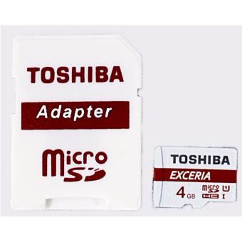 TOSHIBA ULTRA MICRO SDHC CARD Class 10 4GB WITH ADAPTER