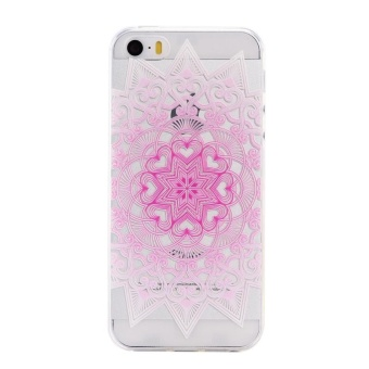 Ultra-Thin Soft Flexible TPU Case for iPhone 5 5s SE (Pattern-11) -intl