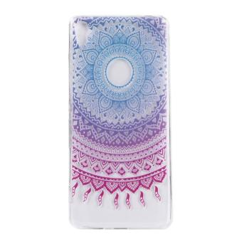 Ultra-Thin Soft Flexible TPU Case for Sony Xperia XA (Pattern-2) -intl